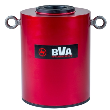 BVA Hydraulics Double Acting Hollow Hole Aluminum Cylinders HUDC15006