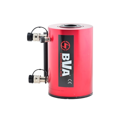BVA Hydraulics Double Acting Hollow Hole Aluminum Cylinders HUDC5006
