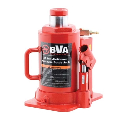 BVA Hydraulics Air / Manual Bottle Jacks J18302